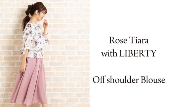 【新作】Rose Tiara with LIBERTYブラウス 2